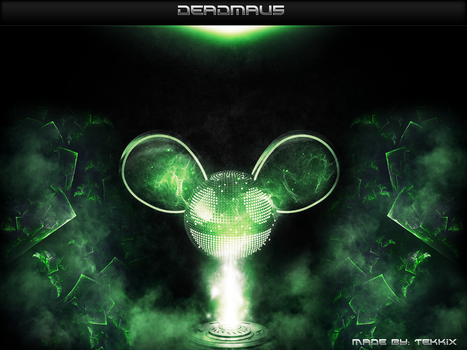 Deadmau5 Fan Art by Tekkix