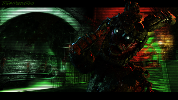 In The Depths of Hell (Decayed ST Wallpaper) by TF541Productions