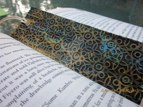 Painted Bookmark 12 P2 by AywenCreations