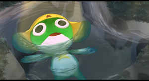 Hey, anyone remember about this frog alien thingy? by Twitchy-Senpai
