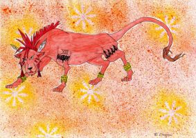 Red XIII by dragonwings83