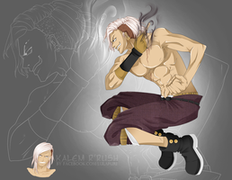 One Piece OC [Kalem] by Lulapuri