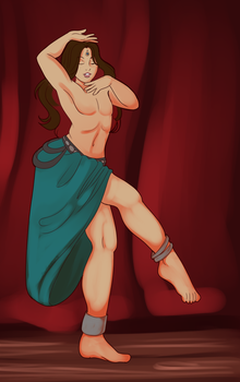 More Dancer Doodling by voiceinsight