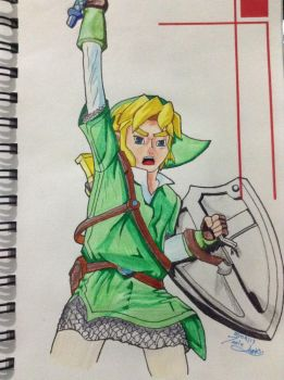 Skyward Link by Mighty-puff