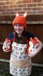 Fox hat by magicandcrochethook
