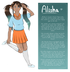 Alisha Reference Sheet by Intergrated