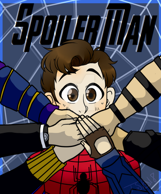 Tom Holland is Spoiler Man by Twisted-Sketch