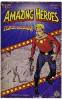 Flash Gordon Prototype Action Figure Art Front by RobertHack