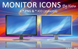 Monitor Icons by Kuxu