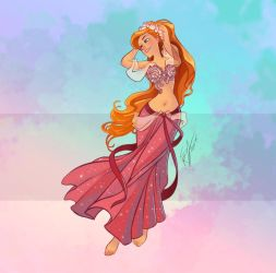 Disney Belly Dancers: Giselle by Blatterbury