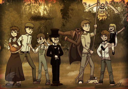 Miss Peregrine's children: groups photo by DragonCarly
