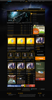 My Affliction Gaming Template by michaeltinnin