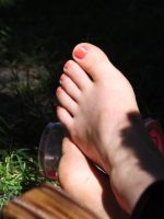 Feet In The Grass #3 by Neville6000