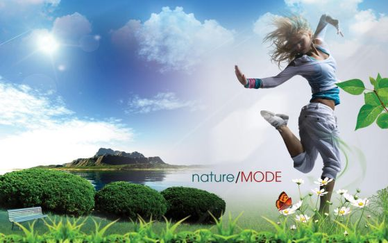 Nature Girl 2 by mct2art