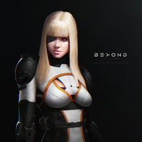Confederation Agent - BEYOND THE STARS by LimonTea