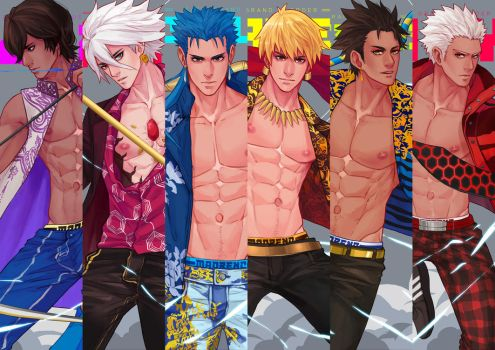 Fate Grand Order by maorenc