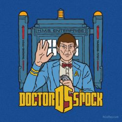 Doctor Spock by Randy-Coffey