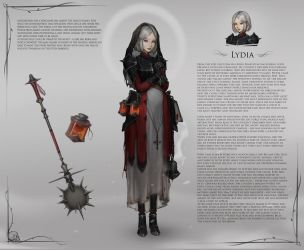 lydia by Kittew
