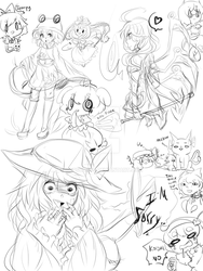 spoopy doodle by Yatsunote