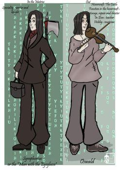 Oswald in Matrix by Emma-O-Lantern