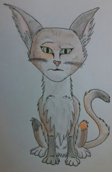 A Pretty Disgusted Cat by goldfinch63