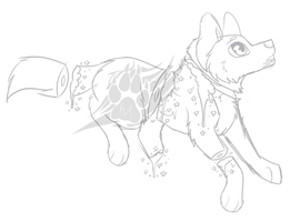 Pastel Gore Canine Chibi YCH (5/5 OPEN) by KipAnimations
