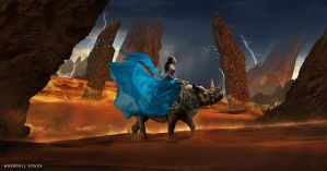 The Princess's Journey by Whendell