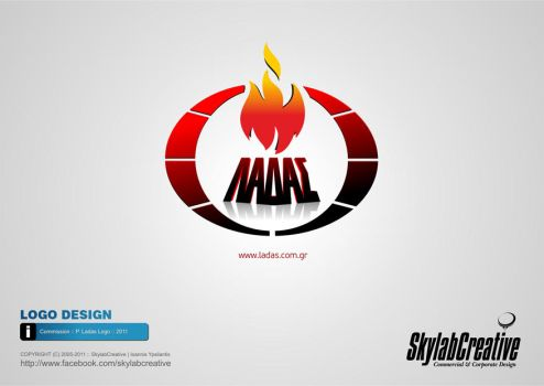 Commission : Ladas Fire Protection (Logo) by SkylabCreative