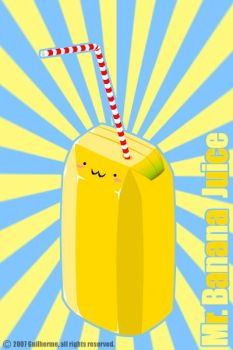 Mr. Banana Juice by catchthefeel89