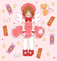 Card Captor Sakura Tile by Momoroo