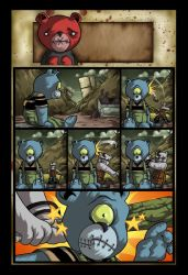 Teddy Scares Page 1 Colors by DustinEvans