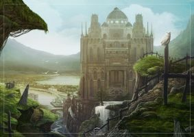 City of Aghabur by Eacone01
