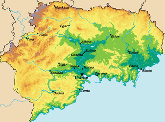 Geographic Features of Lylybium by LNucleus