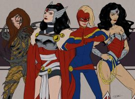 Superheroine's Day by toherrys