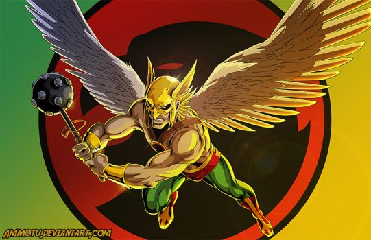 Hawkman by Ammotu