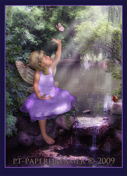 Pond Dreaming by PaperDreamerArt