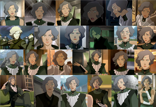Suyin Beifong collage by JackieStarSister