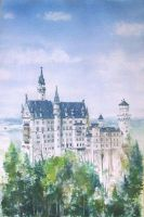Neuschwanstein castle by milanglo