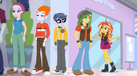MLP Equestria Girls A Fine Line Moments 1 by Wakko2010