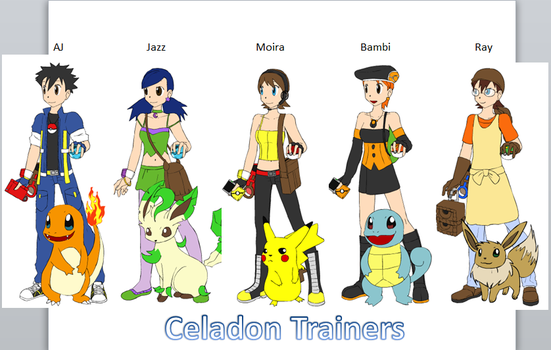 Celadon Trainers by ciciweezil96