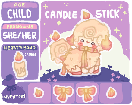 Candle Stick by cacticookies