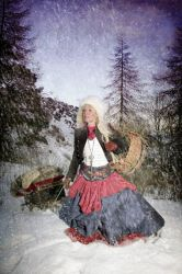 Snegurochka The Snowmaiden I by SonOfTheSea
