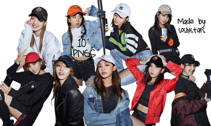 TWICE PNG Pack {MLB 2017 Be Major} HQ by soshistars