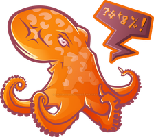 Angry Octopus by 88angryoctopus88