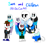 Sans and Children (PJ's Daycare AU) [And QandA] by cjc728