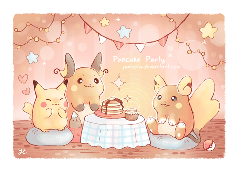 Pancake Party by Paleona