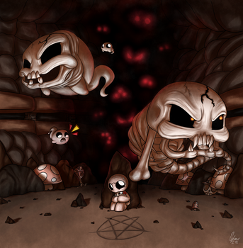 To catch a Lil' Haunt by SpinoOne