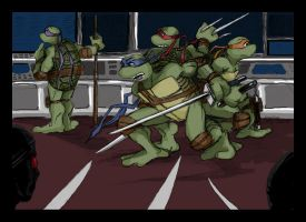TMNT: Any day now Donnie... by loolaa
