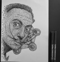 Salvador Dali Triangulation by eliasmadan