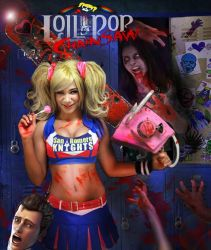 Lollipop chainsaw! by ZandragonDesigns
